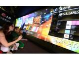 Bild: Auf der CES zu sehen: Smart TVs von LG mit Web OS.