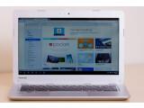 Bild: Chromebooks wie diese Modell von Toshiba sind bislang deutlich günstiger als die meisten Windows-Notebooks.