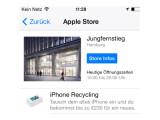 Bild: Deutsche Apple Stores nehmen ab sofort alte iPhones in Zahlung.