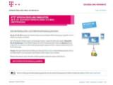Bild: E-Mail bei der Telekom: Ab Ende März nur noch verschlüsselt.