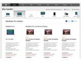 Bild: Soll eingestellt werden: das letzte MacBook Pro ohne Retina-Display, im Bild ganz links zu sehen.
