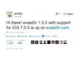 Bild: Evasi0n lässt sich nun auch auf iPhones mit iOS. 7.0.5 verwenden.