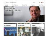 Bild: EX-Bundeskanzler Gerhard Schröder wurde ebenfalls Opfer des NSA-Spionage.