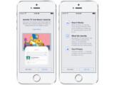 Bild: Facebook ergänzt die iOS- und Android-App durch eine Shazam-ähnliche Funktion.