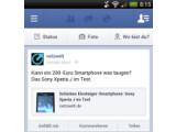 """Bild: Der Facebook-Newsfeed könnte Ende Januar durch """"Paper"""" abgelöst werden."""
