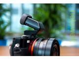Bild: Der FDA-EV1MK ist ein elektronischer Aufstecksucher für Sonys Cyber-Shot-Kompaktkameras mit Multifunktions-Blitzschuh.
