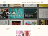 """Bild: Die Firma Fiftythree hat bereits eine App mit dem Namen """"Paper"""" auf dem Markt."""