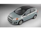Bild: Der Ford C-Max Solar Energi zieht große Teile seiner Energie aus Solarzellen auf seinem Dach.