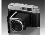 Bild: Fujifilm GF670 (Bild) ist eine analoge Mittelformatkamera von Fujifilm, die bald in Form einer Systemkamera eine digitale Schwester bekommen könnte.