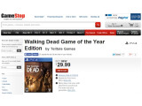 Bild: GameStop listet The Walking Dead in der Game of the Year-Edition für den 17. Juni.