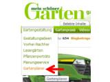 Bild: Gartenplaner auswählen.