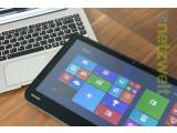 Bild: Gespaltene Persönlichkeit: Im Tablet verbaut Toshiba die große 500-Gigabyte-HDD, Akkus finden sich sowohl in der Tastatur als auch im Tablet.