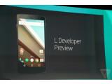 """Bild: Google hat auf der I/O die nächste Android-Version """"L"""" vorgestellt."""