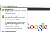 Bild: Google weitet die Verschlüsselung der Suchanfragen aus.