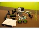 Bild: GoPro hero 3+ im Test: die Action-Cam wird mir viel Zubehör geliefert.