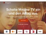 Bild: Gratis-Fernsehen: Magine TV bietet mehr als 60 TV-Sender.