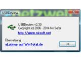 Bild: Die Gratis-Software USBDeview nutzen Sie auch um die Eigenschaften Ihrer USB-Geräte komfortabel zu verwalten.