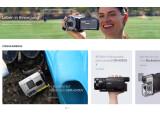 Bild: Große Bilder, kleiner Informationsgehalt. Neu gestaltete Websites wie die von Sony setzen auf den Trend zu großen Bildern und schickem Layout.