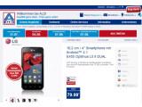Bild: Gutes Angebot: das LG Optimus L5 II Dual bei Aldi Nord.
