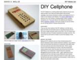 Bild: Handy im Eigenbau: Das DIY Cellphone von David A. Mellis.