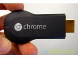 Bild: HDMI-Stick: Google Chromecast ist kaum größer als ein handelsüblicher USB-Stick.