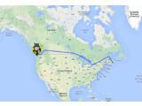 Bild: Der HitchBot ist nach 6.000 Kilometern am Ziel.