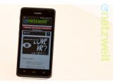Bild: Das Huawei Ascend Y530 stellt sich dem netzwelt-Test.