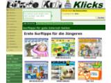 Bild: Kindersuchmaschine mit vielfältigem Webkatalog als Ausgangspunkt zum Surfen für Kids.