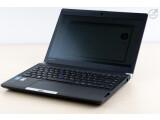 Bild: Matt und dennoch gut drauf: Wie es sich für ein Business-Notebook gehört, bietet das Toshiba Portégé einen entspiegelten Bildschirm.
