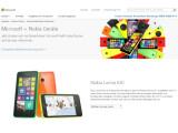 Bild: Microsoft verkauft nun Lumia-Smartphones auch online.