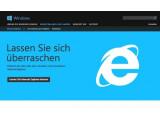 Bild: Microsofts Internet Explorer ist von einer Schwachstelle betroffen.