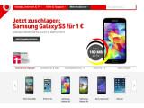 Bild: Mobilfunkanbieter wie Vodafone werben derzeit mit dem Galaxy S5, dem iPhone 5s, dem Xperia Z2 und dem HTC One (M8) um Kunden.