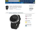 Bild: Die Moto 360 im Onlineshop von Best Buy.