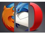 Bild: Mozilla und Opera schicken überarbeitete Versionen Ihrer Webbrowser ins Rennen. Auch Thunderbird erhält ein Update