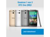 Bild: netzwelt verlost unter allen Facebook-Fans das neue HTC One (M8).