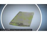 Bild: Das neue Deckglas von Corning tötet Bakterien.
