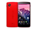 Bild: Das Nexus 5 ist ab sofort auch in Rot erhältlich.