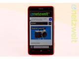 Bild: Das Nokia Lumia 625 stellt sich dem netzwelt-Test.