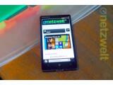 Bild: Das Nokia Lumia 930 macht einen robusten Eindruck.