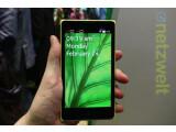 Bild: Das Nokia XL - demächst mit einem Home Button?