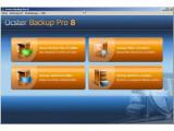 Bild: Die Oberfläche von Backup Pro wirkt etwas altbacken, ist aber funktional und einfach zu nutzen.