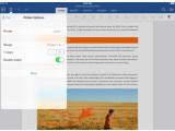Bild: Das Office-Update für das iPad liefert jetzt eine Druckfunktion.