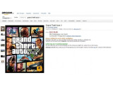 Bild: Der Online-Händler amazon listet GTA 5 für den PC.