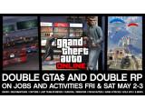 Bild: Onlinegangster können sich heute und morgen doppelte RP- und GTA$ verdienen.