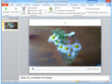 Bild: In Ihre Präsentation in Microsoft PowerPoint können Sie Videodateien einbauen.