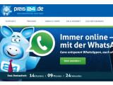Bild: Bei Preis24.de gibt es den WhatsApp-Tarif nun mit mehr Startguthaben.