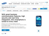 Bild: Samsung kündigt auf seiner deutschen Webseite das Galaxy S3 Neo an.