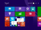 Bild: Der Screenshot von WZor enthüllt, Microsoft platziert den Herunterfahren-Button in die rechte obere Ecke.