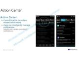 Bild: Screenshots veröffentlicht: der Notification Center in Windows Phone 8.1.