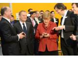 Bild: Secusmart und BlackBerry arbeiteten bereits bei der Entwicklung eines Krypto-Handys für Kanzlerin Angela Merkel zusammen.
